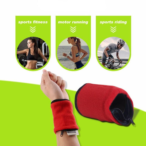 Active Band - Wallet for Travelers & Athletes!