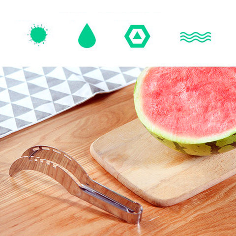 Stainless Steel Watermelon Fruit Cutter Slicer