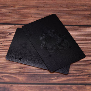 Neo® - Luxury Matte Black Playing Cards