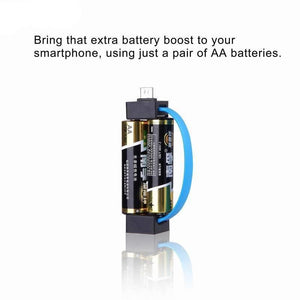 AA Emergency Cellphone Battery Charger