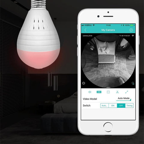 Image of Spylite™ - Lightbulb Camera With Night Vision