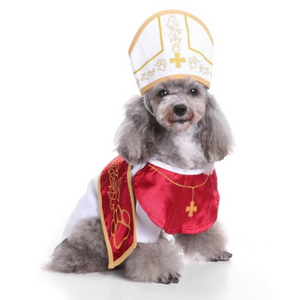Pope Dog Costume