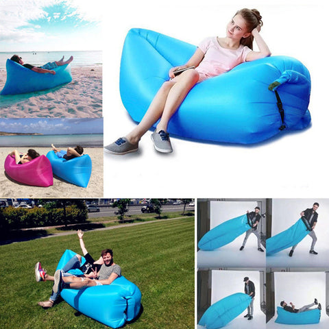 Image of Uber Chill Travel Lounger - Relax Anywhere!