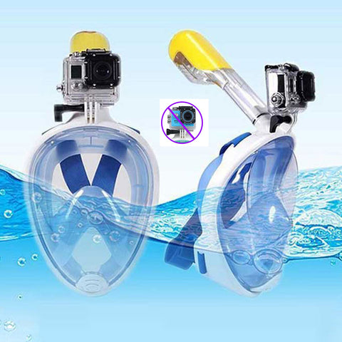 Full Face Snorkeling Mask Set Diving Underwater