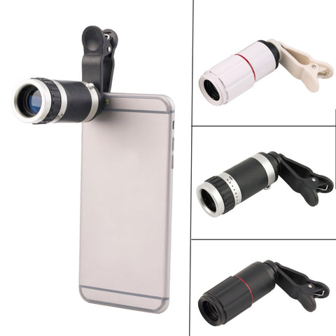 8-18x Zoom Optical Mobile Phone Telescope