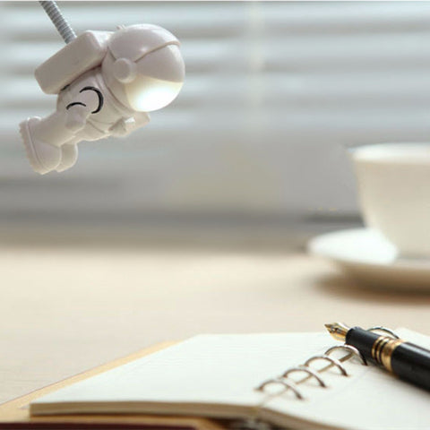 Image of White Mini Flexible Spaceman Astronaut USB Tube Light