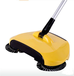Stainless Steel Hand Push Magic Broom