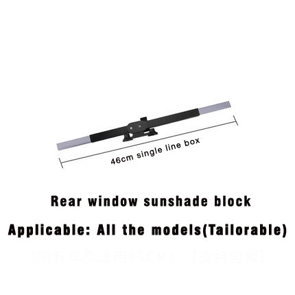 Image of Car Retractable windshield Curtain with UV protection
