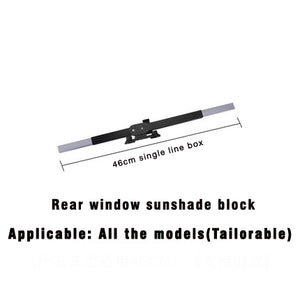 Car Retractable windshield Curtain with UV protection