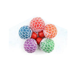 Colorful Anti Stress Hand Exercise Squishy Ball