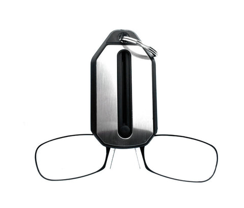 Portable Nose Clip Keychain Reading Glasses