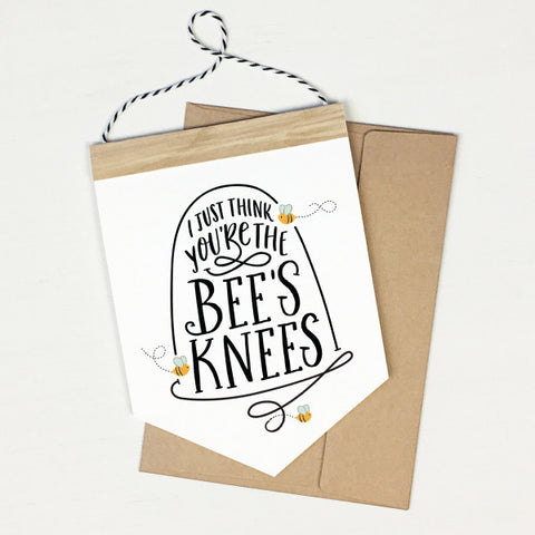Bees Knees - Banner Greeting Card