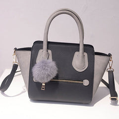 Ladies fashion style leather hand bag