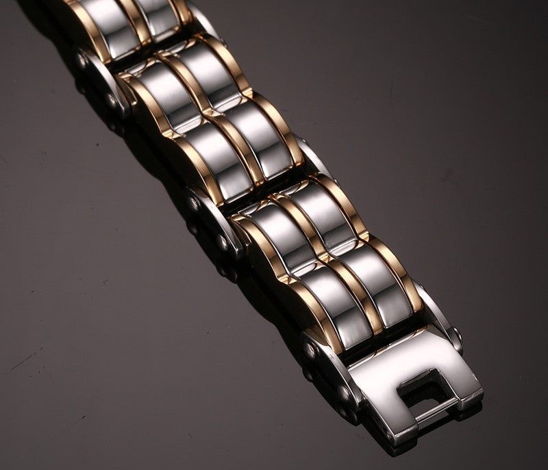 Men's Fashion Bracelet Stainless Steel