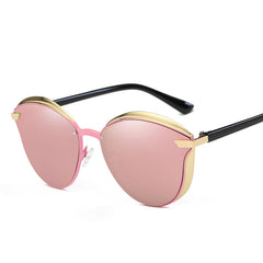 Women's Polarized Mirror Lens Fashion Sunglasses