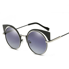 Polarized Women's Points Vintage Sunglasses