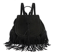 Casual Women's Mini Tassels Backpack