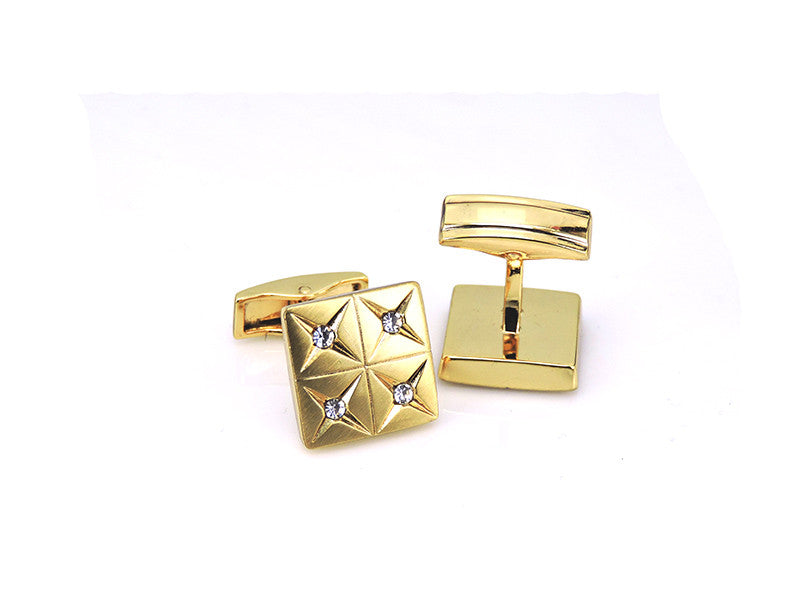 Gold Plated Fashion Cufflinks