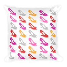 """Shoes Shoes Shoes"" Print Decorative Throw Pillow"
