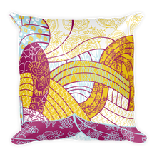 """Her Eyes"" Print Decorative Throw Pillow"