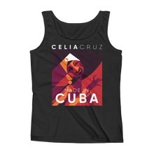 "Women Graphic Tank ""Made in Cuba"" Print Tank Tops"