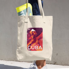 "Cotton Tote Bag ""Made in Cuba"" Print"