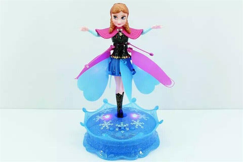 Fairy Flying Elsa with stand Musical Gift