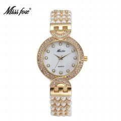Miss Fox Beautiful Nature Pearl Watch