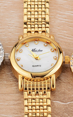 Miss Fox Women Watch Diamond Timepiece