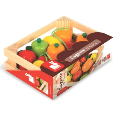 Janod - Fruit Crate (Wooden)