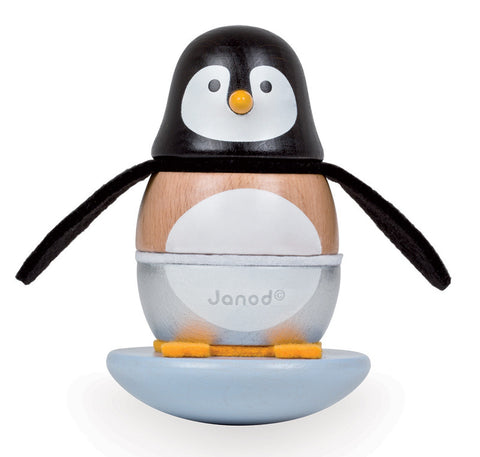 Janod - Penguin Rolly Stacker