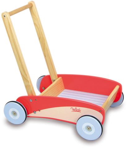 Vilac - Red Push Pull Trolley