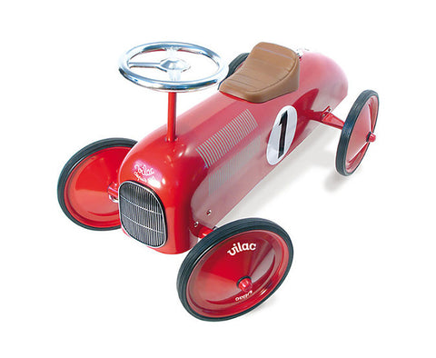 Vilac - Ride On Classic Car - Red