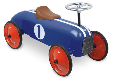 Vilac - Ride On Classic Car - Blue
