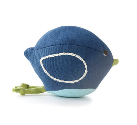 Hazel Village - Bird Rattle - Blue