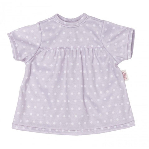 Skrallan Wardrobe - Lillan Spotty Dress - 36cm