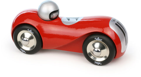 Vilac - Streamline Wooden Car - Red