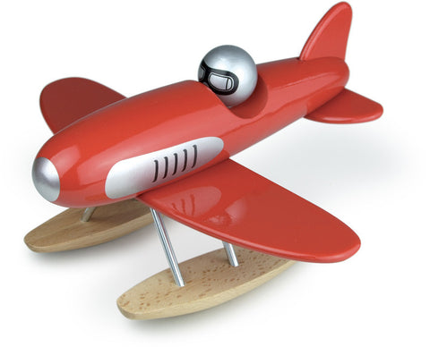 Vilac - Wooden Seaplane - Red
