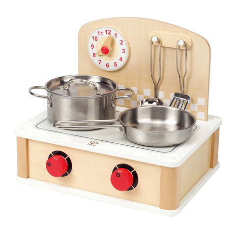 Hape - Indoor Outdoor Cooktop Kitchen