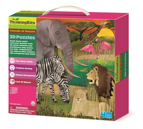 4M - 3D Floor Puzzles - Safari