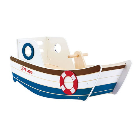 Hape - Wooden Rocking Boat