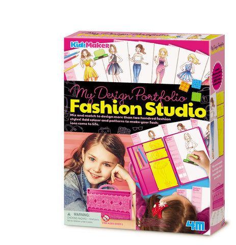4M - KidzMaker - My Design Portfolio - Fashion Studio