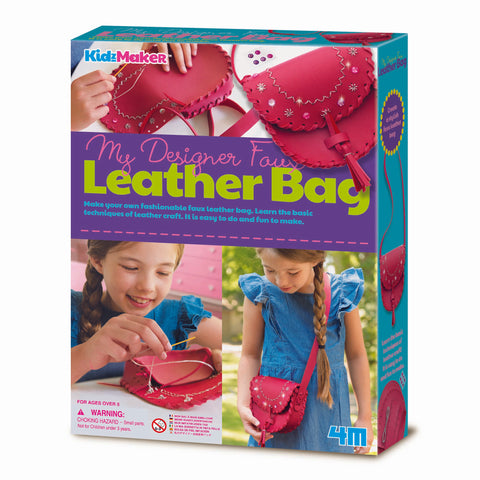 4M - KidzMaker - My Designer Faux Leather Bag