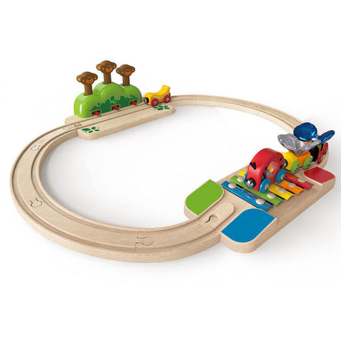 Hape - My Little Railway Set (17 pc)