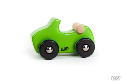 Bajo - Car 8 - Wooden - Green
