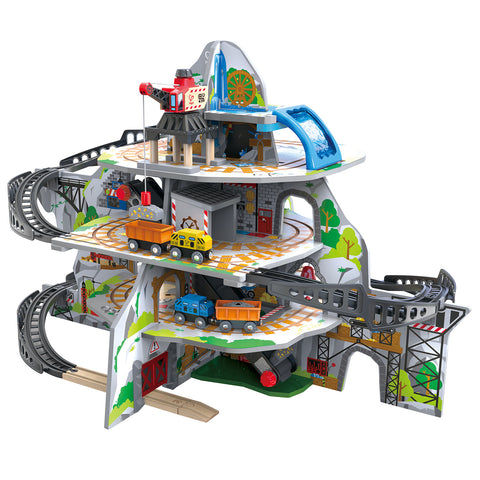 Hape - Mighty Mountain Mine Train Railway Set
