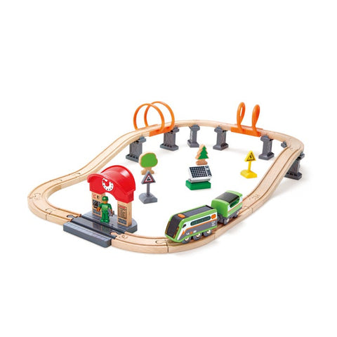 Hape - Solar Powered Circuit - 37 pieces