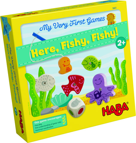 Haba - My Very First Game- Here Fishy Fishy