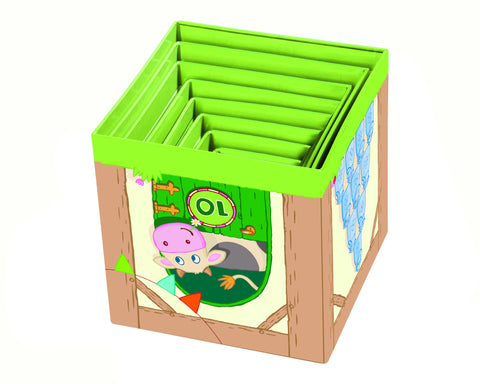 Haba - Stacking Cubes- On the Farm