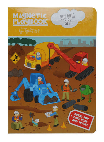 Tiger Tribe - Magnetic Play Book - Building Site